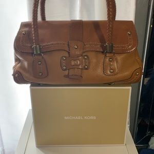 Michael Kros Leather Handbag